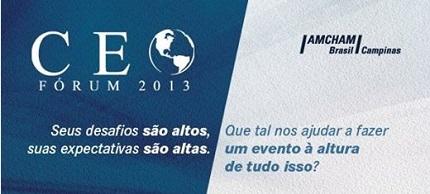 Fórum CEO 2013 Liderança inspiradora: O Segredo dos Grandes Líderes