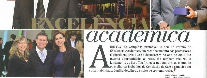 1º Premio de Excelência Acadêmica IBE-FGV – Revista UP