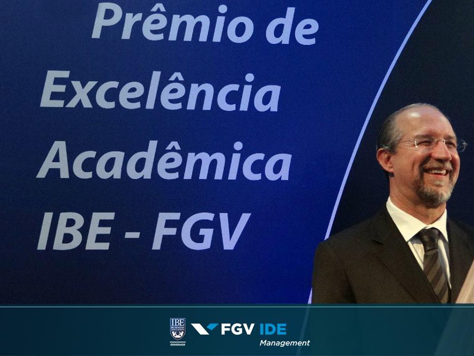 2º Prêmio de Excelência Acadêmica IBE-FGV