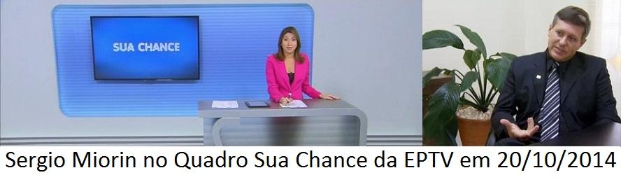 Banner EPTV - Quadro sua chance Outubro 2014
